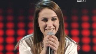 Elhaida Dani foto della cantante di The Voice