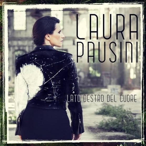 La copertina di Lato destro del cuore, il nuovo singolo 2015 della Pausini