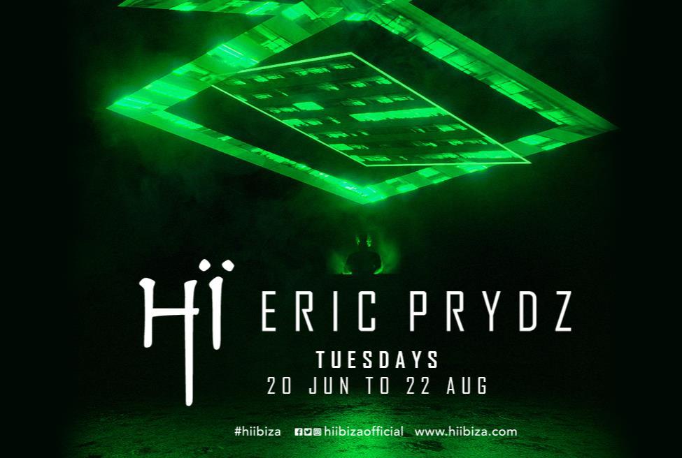 Eric Prydz resident all'Hi Ibiza