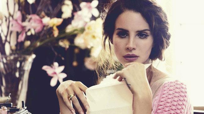 Primo piano di Lana Del Rey