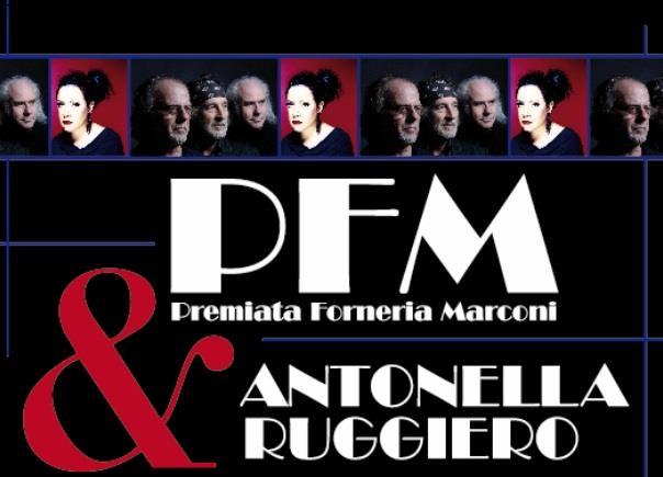 Manifesto Antonella Ruggiero con la PFM