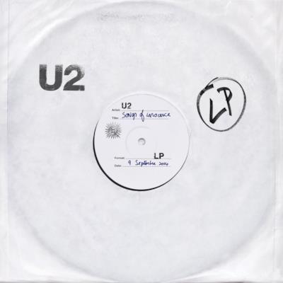 La copertina di Songs Of Innocence degli U2
