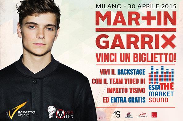 EDM Italy ha indetto un contest per vincere un biglietto e il backstage dell'esibizione di Martin Garrix