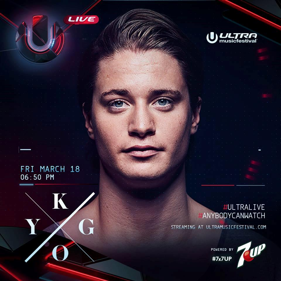 Kygo @ Main Stage, Ultra Music Festival Miami, United States 2016-03-18