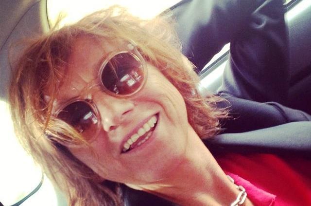 Gianna Nannini con occhiali da sole ottobre 2014
