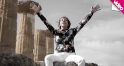 Gianna Nannini in Sicilia nella Valle dei Templi