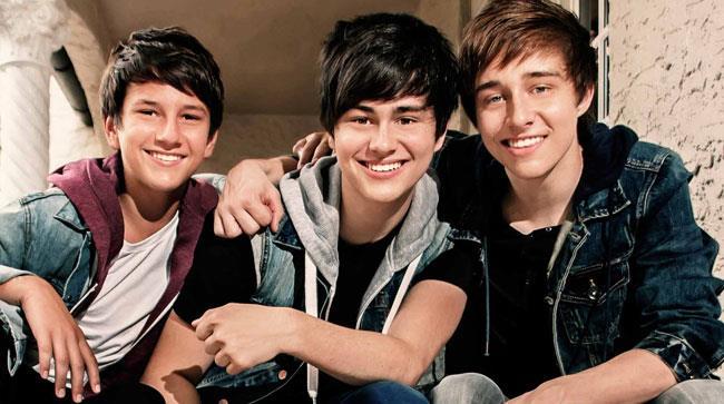 I tre fratelli McDonough, i componenti dei Before You Exit