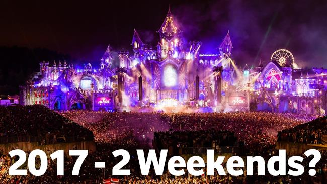 Il Tomorrowland del 2015