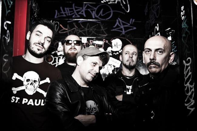 Il gruppo punk italiano Punkreas