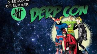 5 Seconds of Summer Derp Con 15-16 novembre 2014