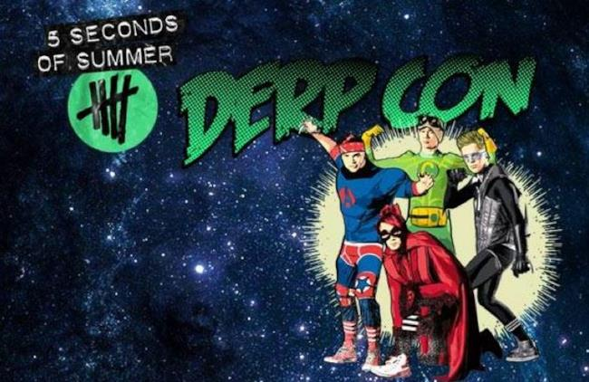 5 Seconds of Summer Derp Con 15-16 novembre 2014