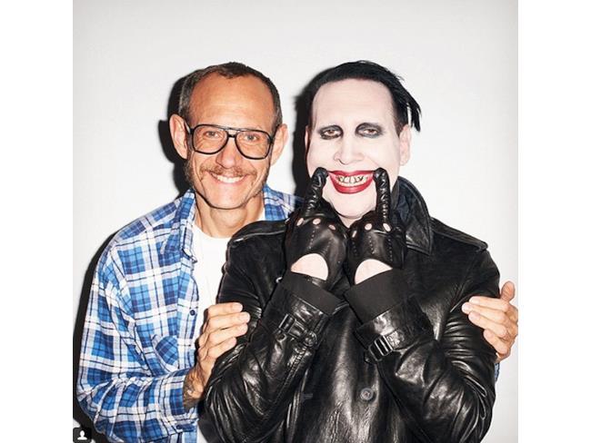 Marilyn Manson e Terry Richardson
