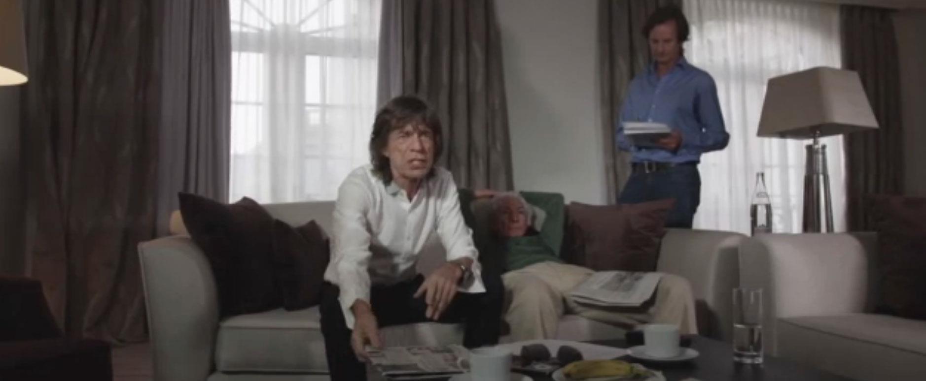 Mick Jagger nello spot per i Monty Python