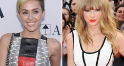 Miley Cyrus e Taylor Swift a confronto