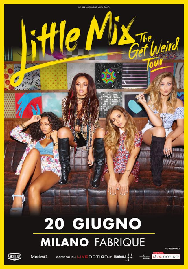 Little Mix live Milano 2016