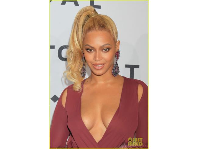 Beyoncé in primo piano