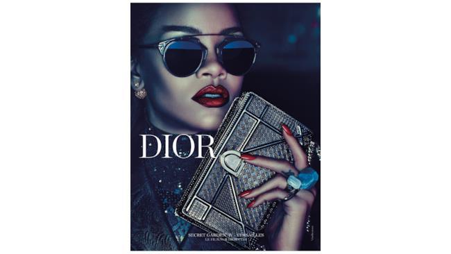Rihanna nella campagna Dior 2015