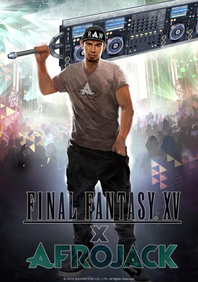 La Afrosword di Final Fantasy XV in onore al DJ olandese