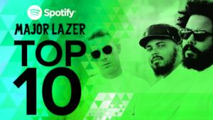 Top 10 canzoni dei Major Lazer