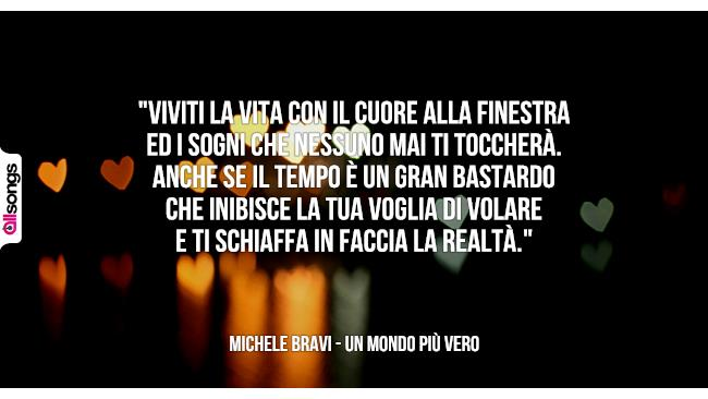 Conosciuto Michele Bravi: le migliori frasi dei testi delle canzoni | AllSongs RD36