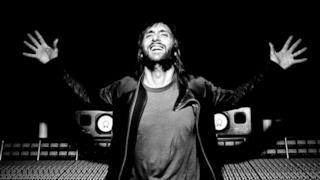 David Guetta in studio di registrazione