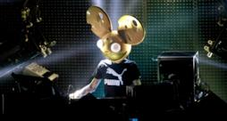 Deadmau5 sullo stage