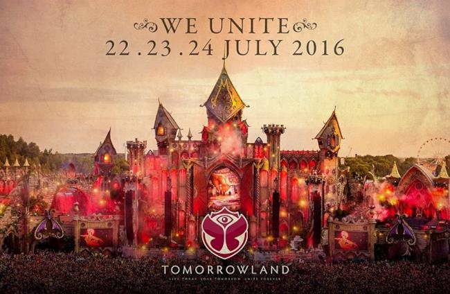 Tomorrowland 2016 dates