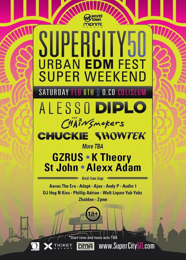 Super City 50 flyer