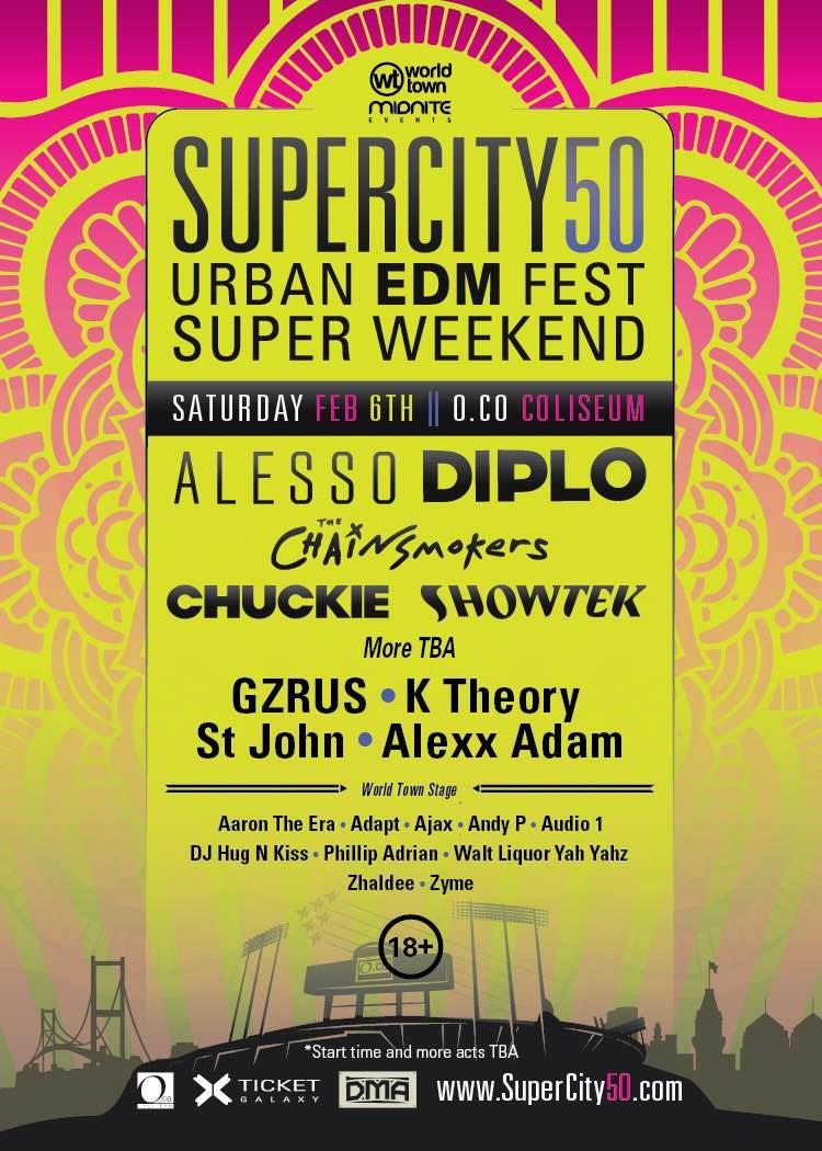 Super City 50 flyer