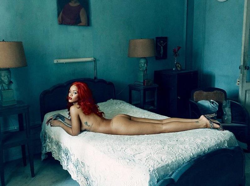 Rihanna per Vanity Fair
