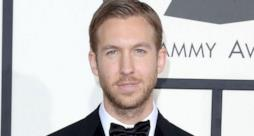 Primo piano di Calvin Harris ai Grammy Awards