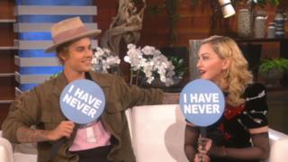 Justin Bieber e Madonna
