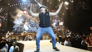 Brian Johnson degli AC/DC