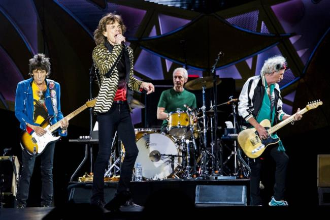 I Rolling Stones dal vivo a Roma