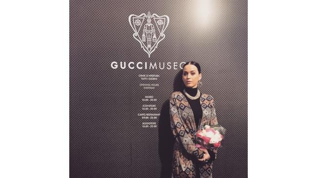 Katy Perry ama il brand Gucci
