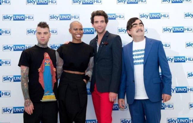 Fedez, Skin, Mika ed Elio sono i giudici di X Factor 9