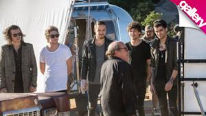 One Direction: le prime foto dal set del video di Steal My Girl