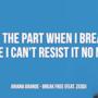 Ariana Grande: le migliori frasi delle canzoni