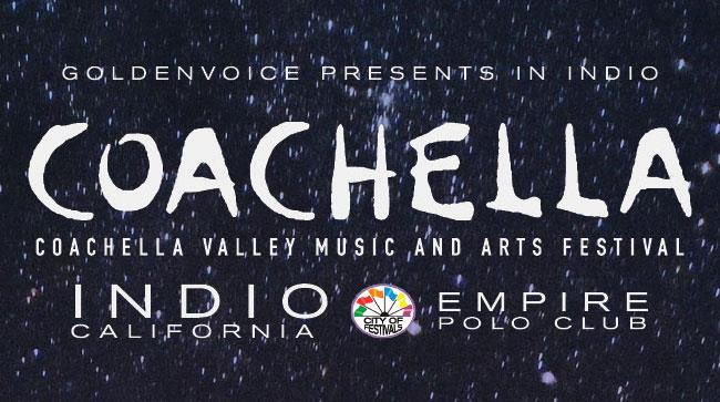 Il logo del Coachella 2015