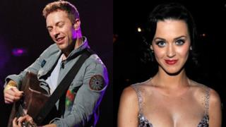 Chris Martin e Katy Perry