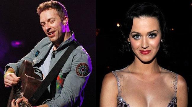 Chris Martin e Katy Perry