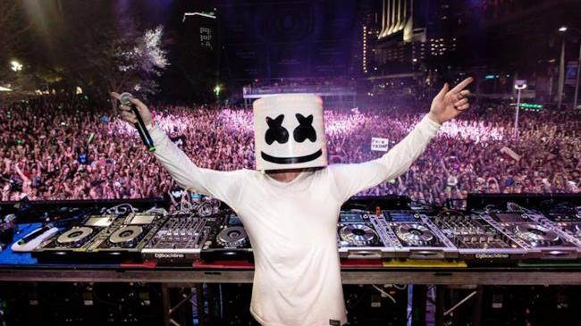 Marshmello all'Ultra Music Festival 2016