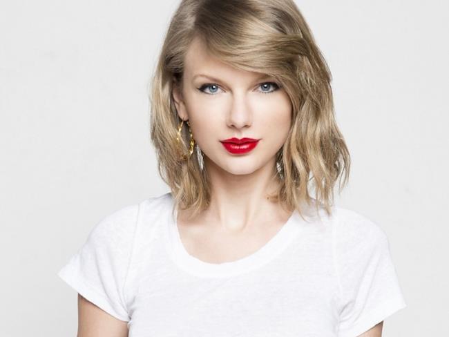 La cantante e attrice statunitense Taylor Swift