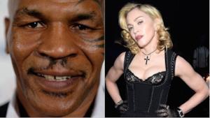 Madonna e Mike Tyson