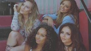 Le 4 ragazze delle Little Mix in posa insieme