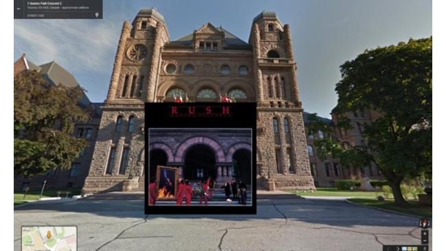 Moving Pictures in Street View