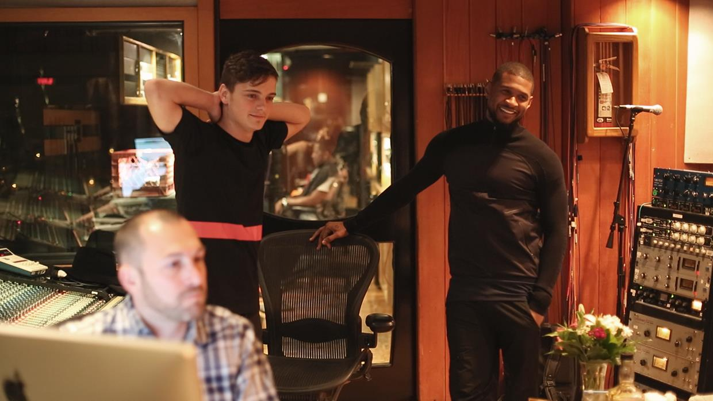Martin Garrix e Usher