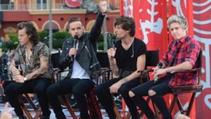 Gli One Direction al Today Show nel 2014