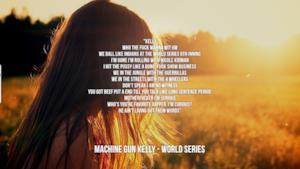 Machine Gun Kelly: le migliori frasi dei testi delle canzoni