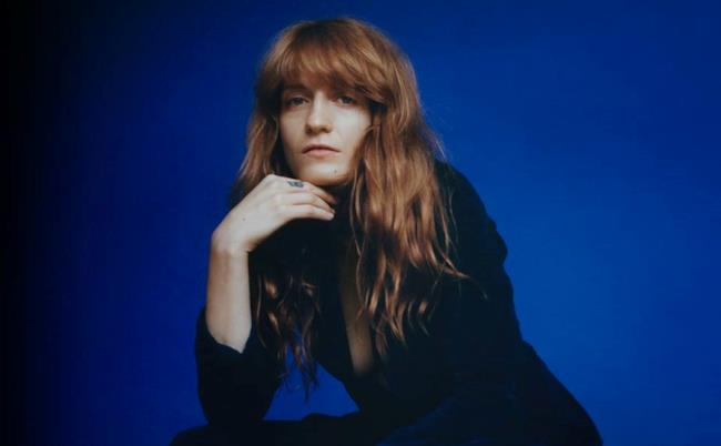 Florence Welch, la cantante dei Florence and The Machine